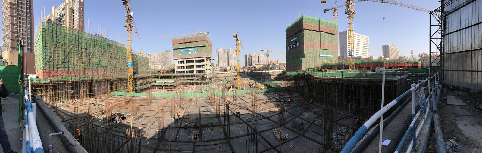 Haishang Plaza Construction Site January 16, 2017